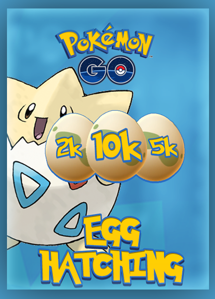 Pokemon Egg Hatching