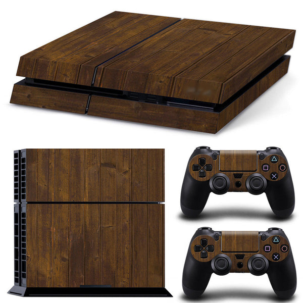 Wood Grain - PS4 Skin