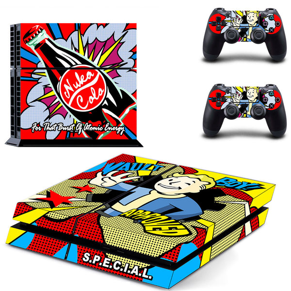Fallout Vault Boy Approved - PS4 Skin