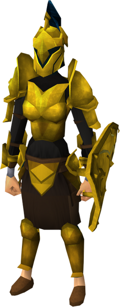 Gilded Armour Set (sk) (RS3)