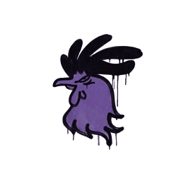 Sealed Graffiti | Cocky (Monster Purple)