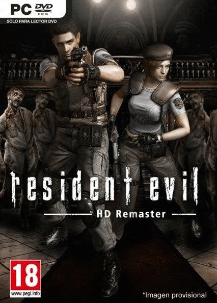 Image result for Resident Evil HD REMASTER cover pc