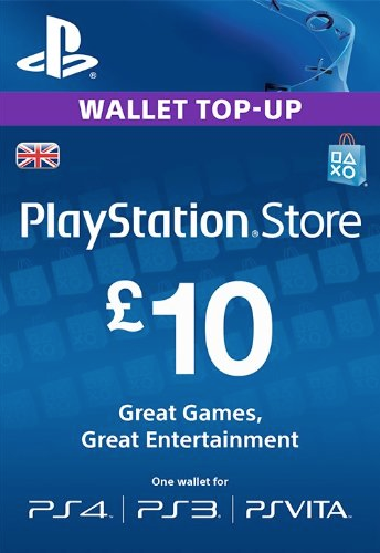 Playstation Network Card - £10
