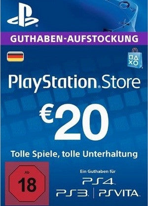 PSN Network Subscription Key - €20 (Germany)