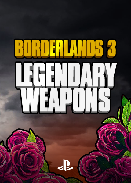 Borderlands 3 - Legendary Weapons (PS4)