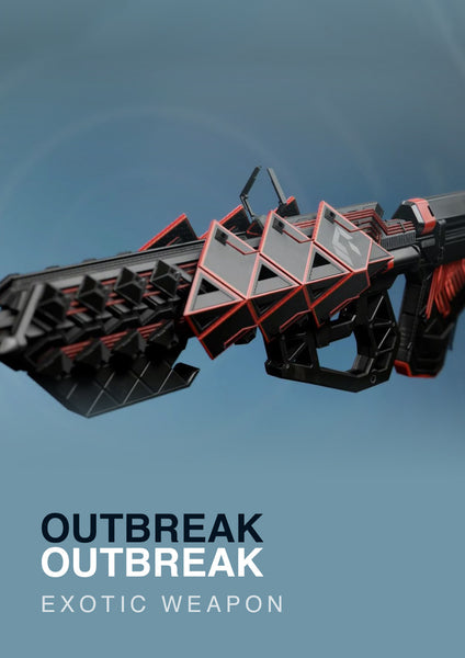 Outbreak Prime Exotic Pulse Rifle for Destiny