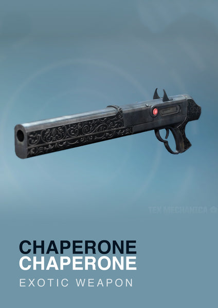 The Chaperone Exotic Shotgun for Destiny