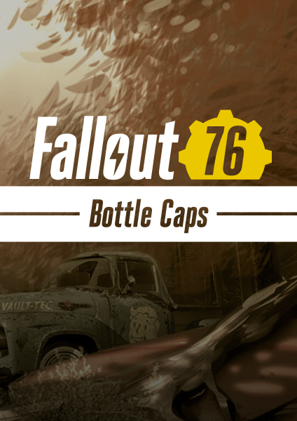 Fallout 76 bottle caps for PS4