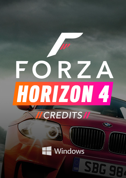 Forza Horizon 4 credits for PC
