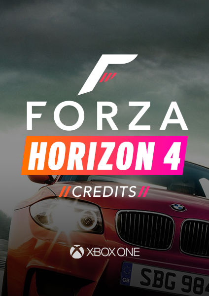 Image result for Forza Horizon 4 Credits