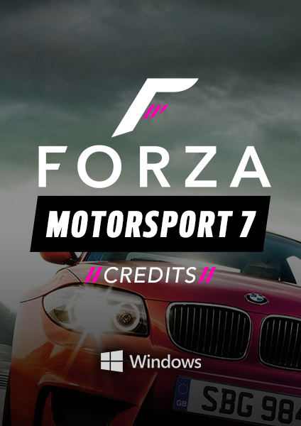 Forza 7 credits for PC