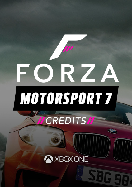 Forza 7 Credits - Xbox One (Car Listings)