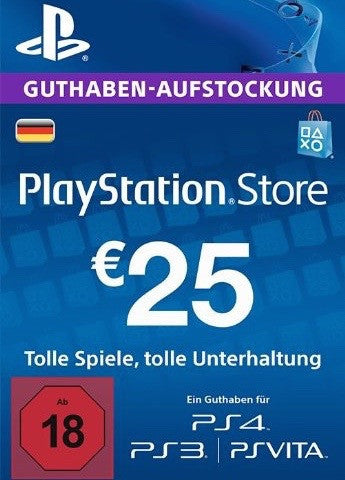 Playstation Network Key €25