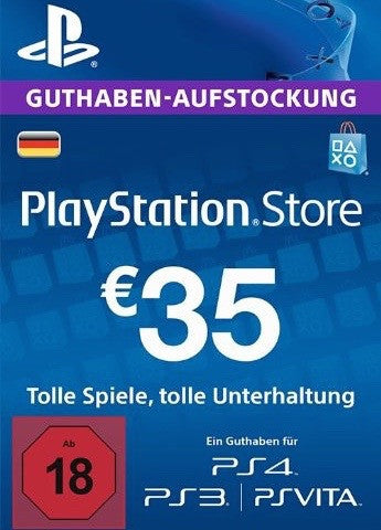 Playstation Network Key €35