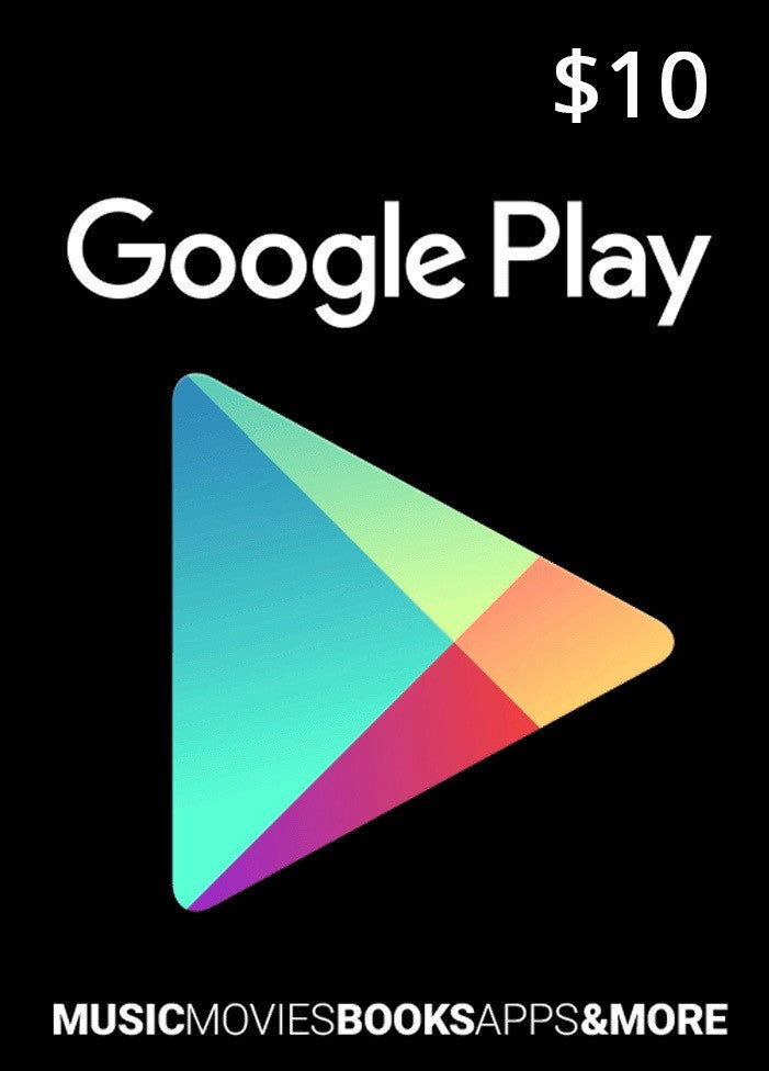 Google Play Gift Card Codes - Buy Online