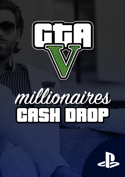 PS4 or PS5 GTA cash drop
