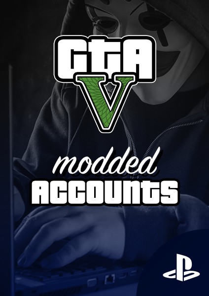 GTA V modded accounts for PS4 & PS5