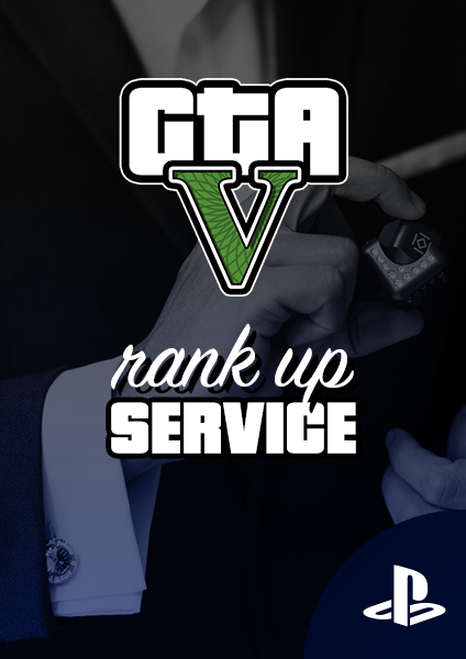 GTA rank up service for PS4 and PS5