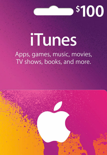 iTunes Gift Card - $100