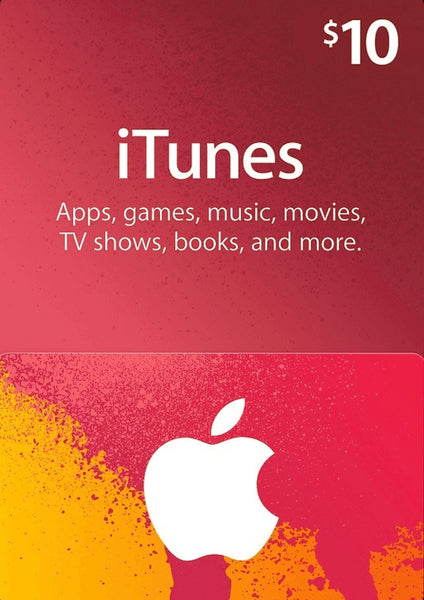 iTunes Gift Card - $10