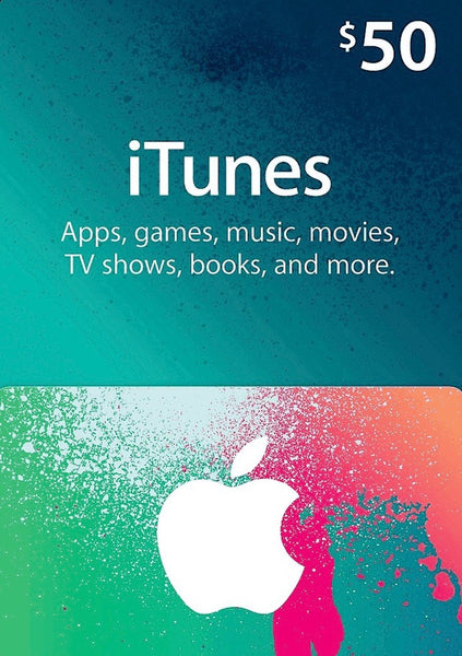 iTunes Gift Card - $50