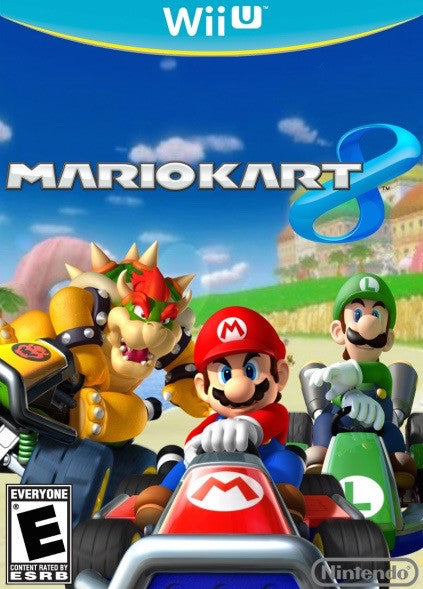 mario kart 8 key nintendo wii u game code. Black Bedroom Furniture Sets. Home Design Ideas