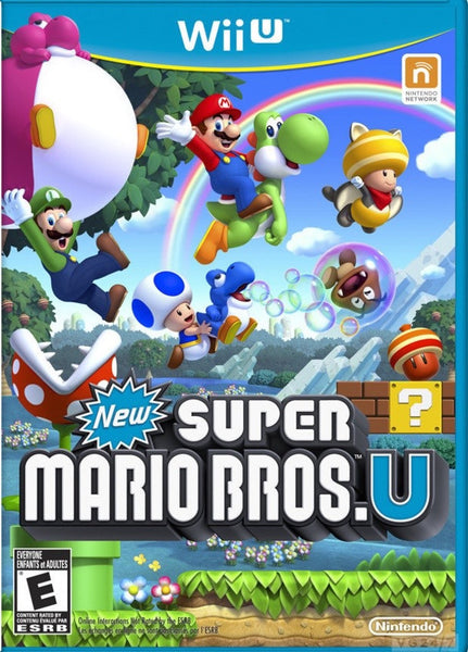 New Super Mario Bros U Wii U-Game Code