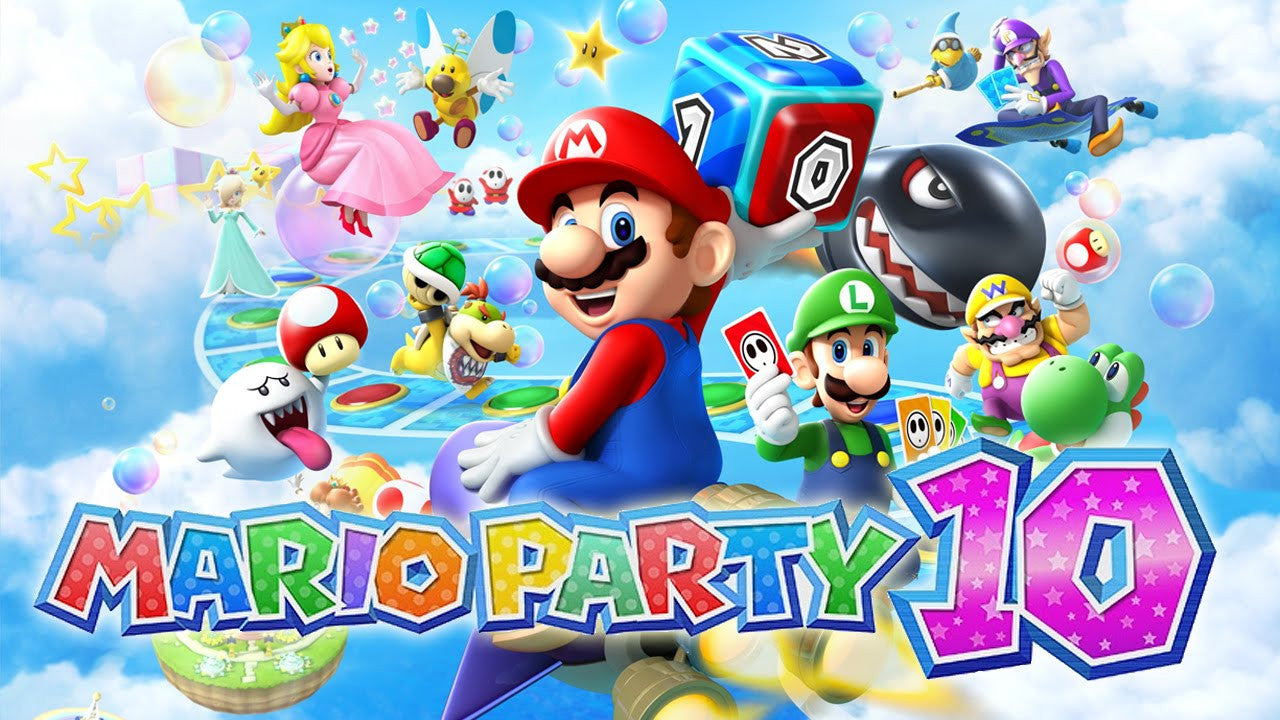 Mario Party 10 Nintendo Wii U Game Key
