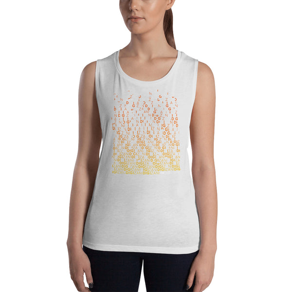 DigiZani Glitch Womens Tank Top