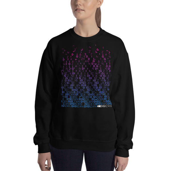 DigiZani Glitch Womens Sweatshirt