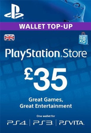 Playstation Network Key £35