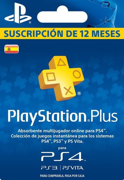 Playstation Plus - 12 Month Membership (Spain)