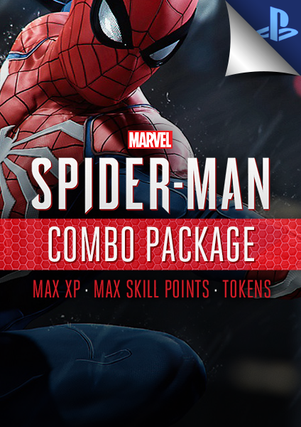 ps4 spiderman max skills, xp and points