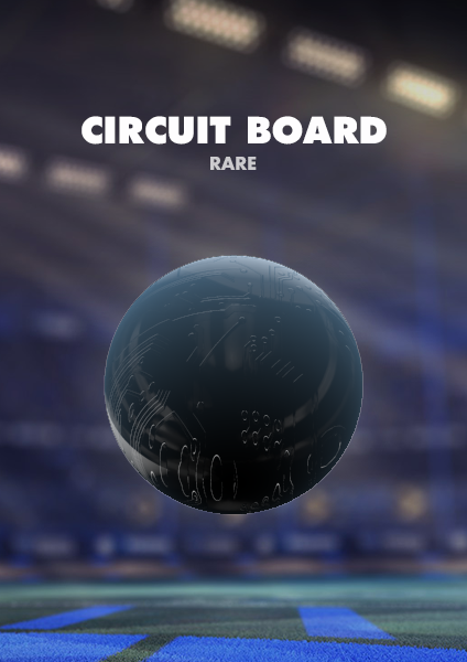 Circuit Board Paint Finish - Xbox One
