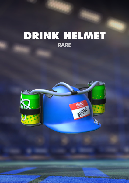 Drink Helmet Topper - PS4