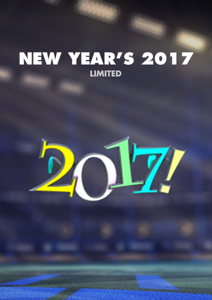 New Year's 2017 Topper - PS4