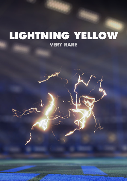 Lightning Yellow Boost - PS4