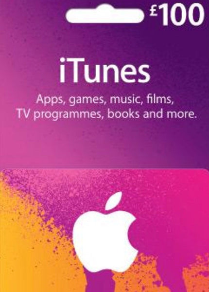 iTunes Gift Card - £100