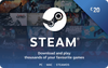 Steam Wallet Top-up £20