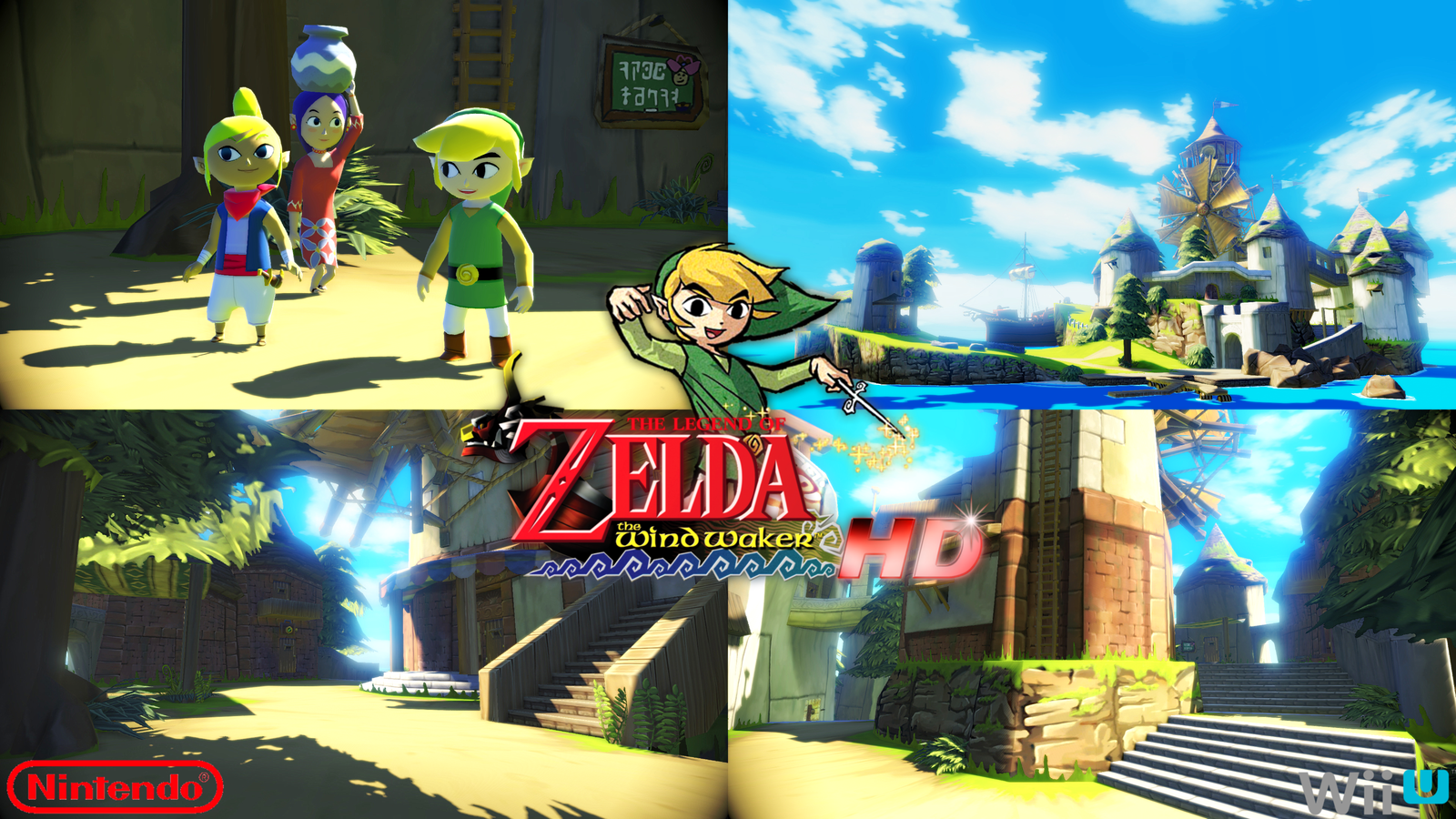 The Legend Of Zelda The Wind Waker Hd Nintendo Wii U Game Key