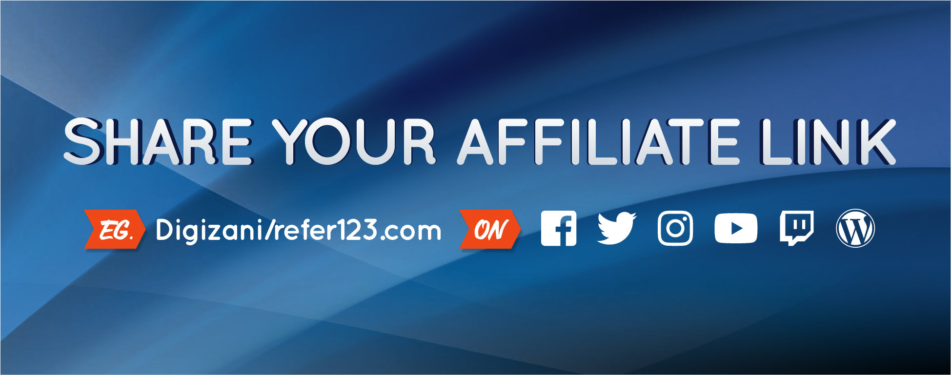 Share your affiliate link