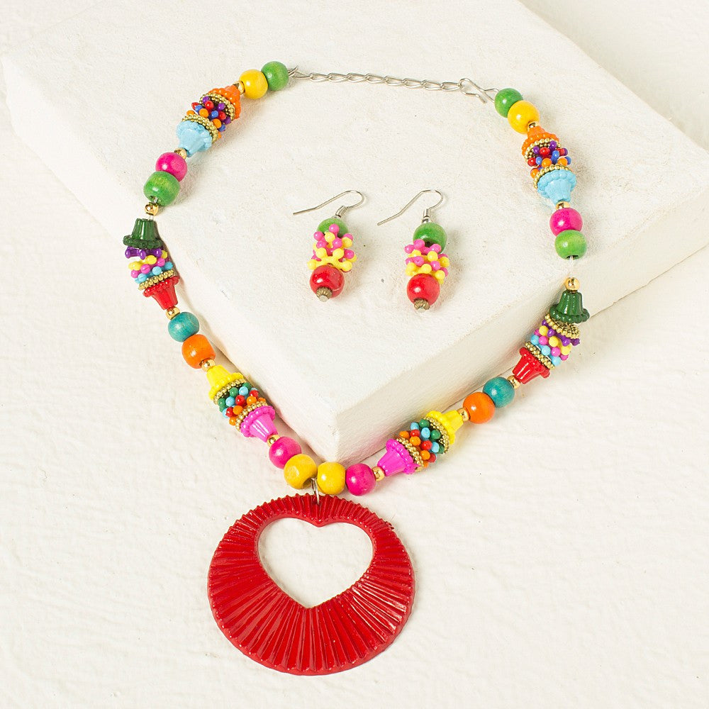 Multicolor Necklace set