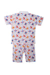 Cotton Night Suits for Baby Boys -Red - BownBee - Creating Special Moments