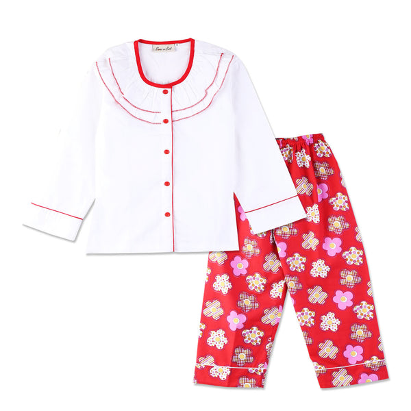 Chritmas Colors Night Suit