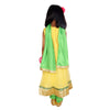 Anarkali Suit with Embroidered Jacket - Yellow