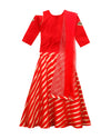 Lehriya Lehnga Choli Ethnic wear for Girls - Red