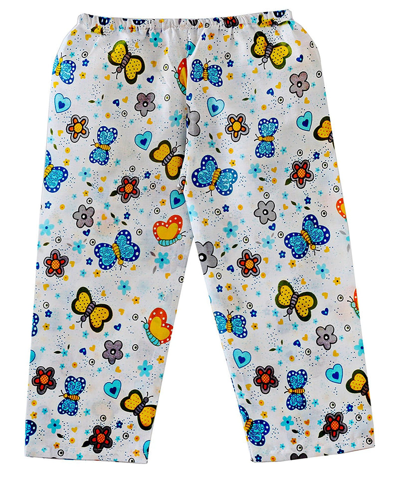 Bownbee Butterfly Print Night Suit - Blue - BownBee - Creating Special Moments
