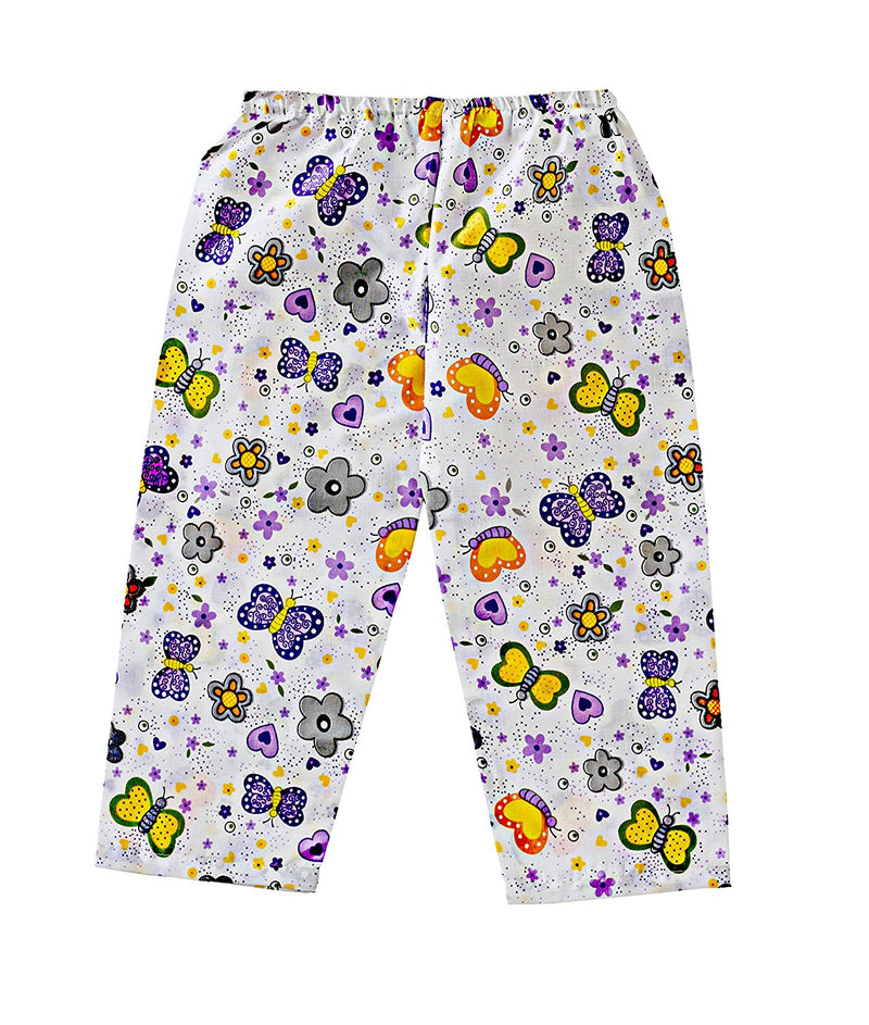 Bownbee Butterfly Print Night Suit - Purple - BownBee - Creating Special Moments