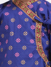 Cotton Kanhaiya Suit Dress For Baby Boy- Blue