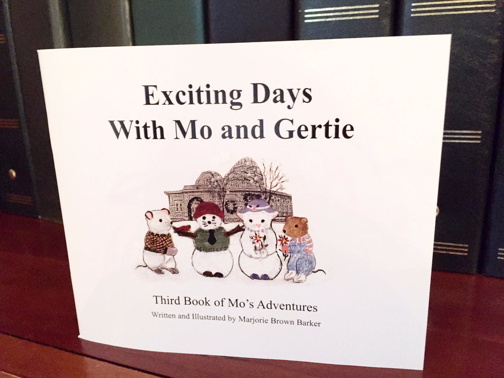 Exciting Days with Mo and Gertie - Barker Ornaments - 1